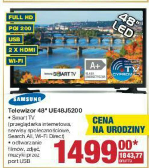 Telewizor Samsung UE48J5200