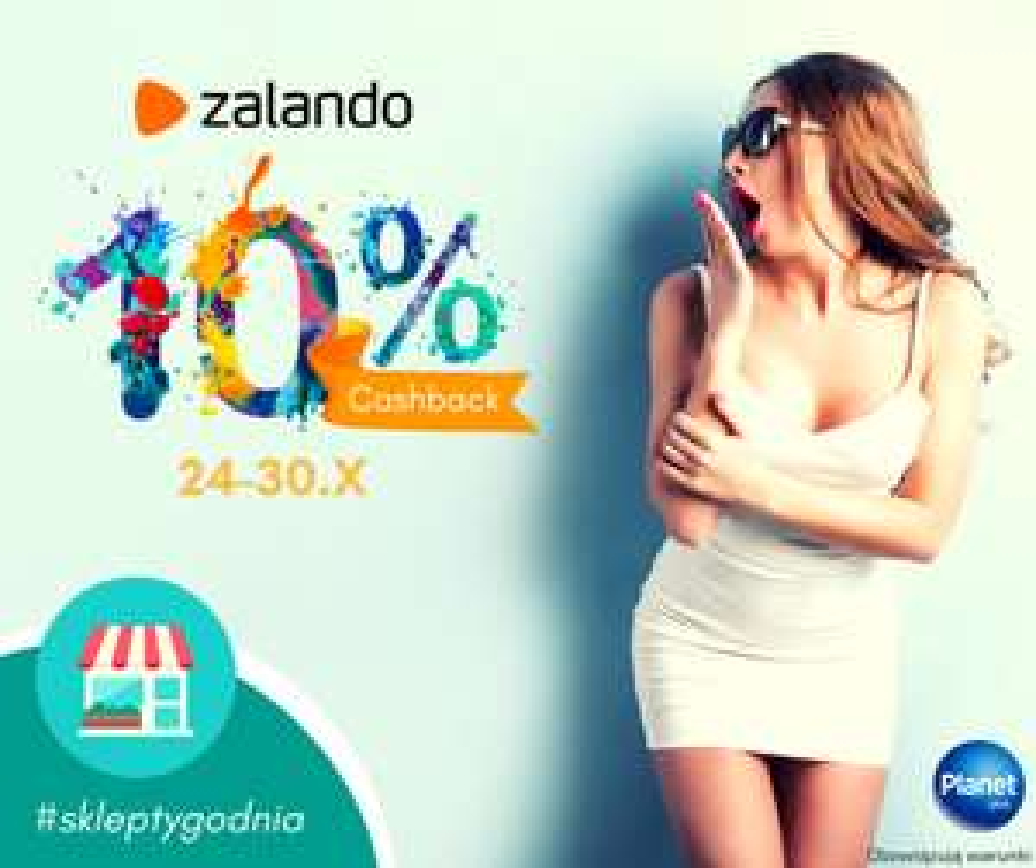 10% Cashback @Zalando @Planet Plus