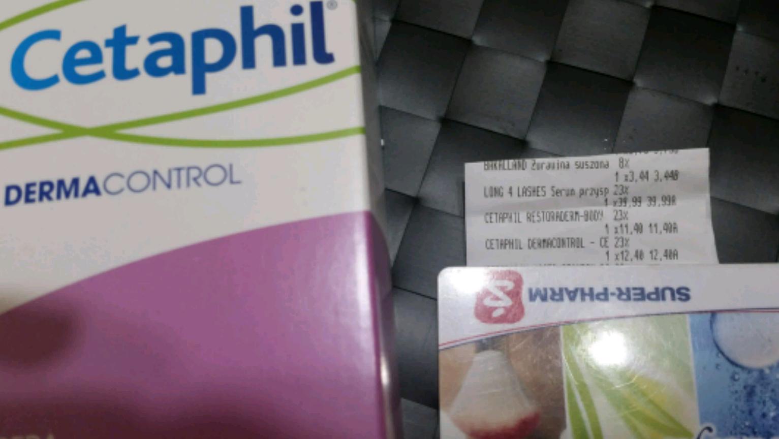 cetaphil dermacontrol  pianka 237ml  za jedyne 12.40 w superpharm.