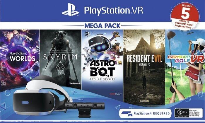 PlayStation VR MegaPack (5 GIER) (klucz PSN)