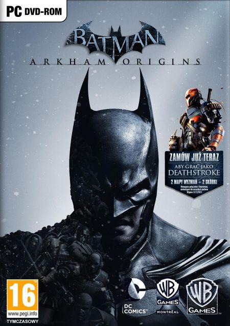 Batman Arkham Origins PC Steam PL