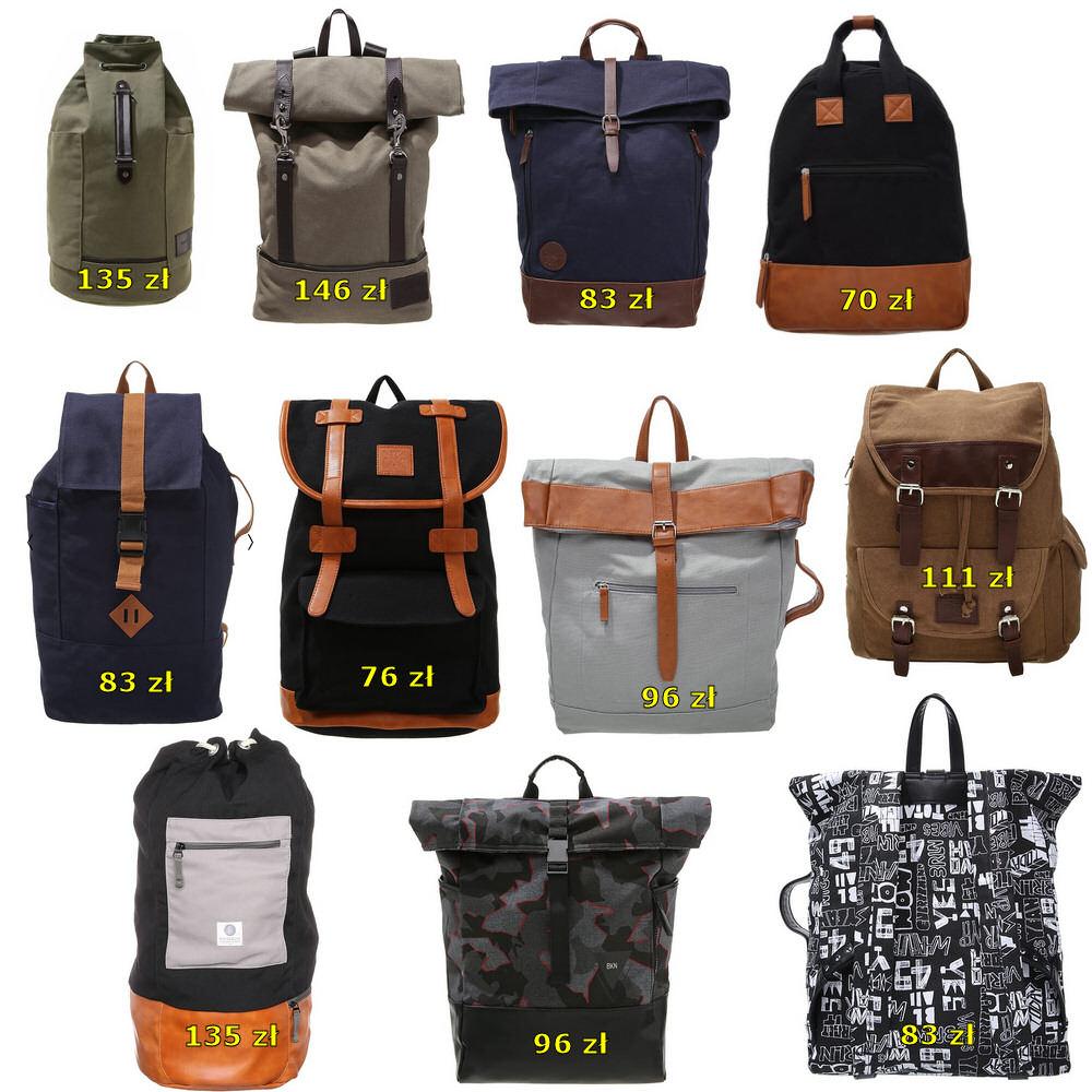 solidne plecaki od Zalando