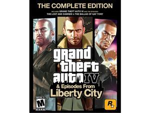 Promocja na serię GTA (Grand Theft Auto IV: Complete Edition - ok. 16 zł) @ Newegg