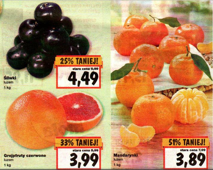 Duże promocje na owoce w Kauflandzie