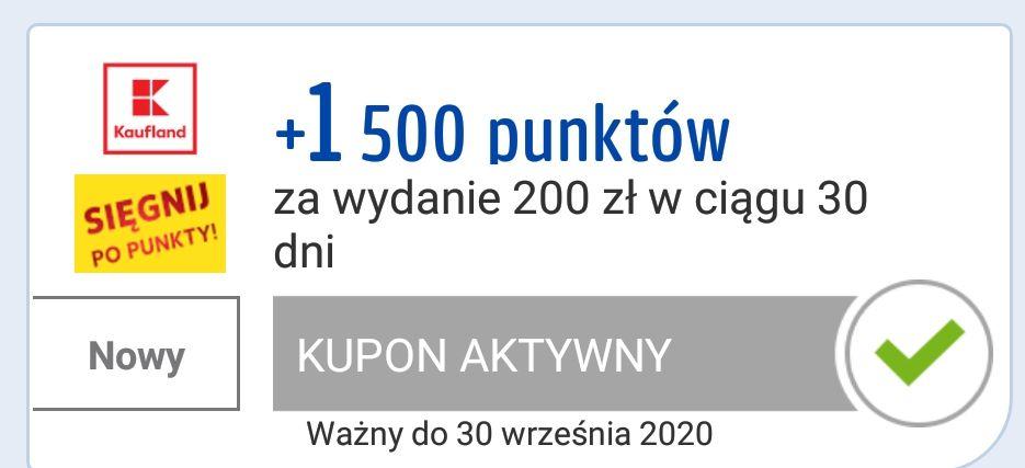 Nawet 1500 punktów payback za zakupy w Kaufland
