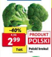 Polski Brokuł sztuka @lidl