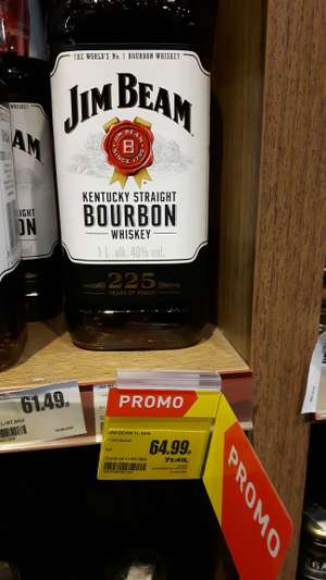 Jim Beam Whisky 1l, Gdańsk, Intermarche
