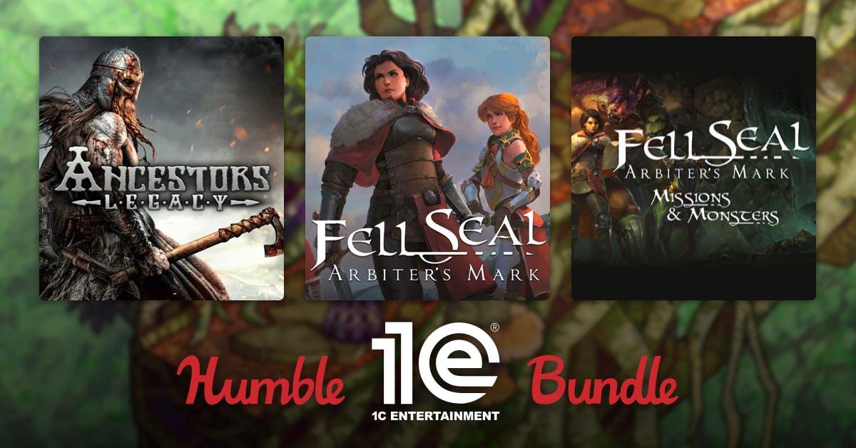 16 gier STEAM z DLC oraz kolejne 12 gier gratis za 68zł - Humble 1C Publishing Bundle