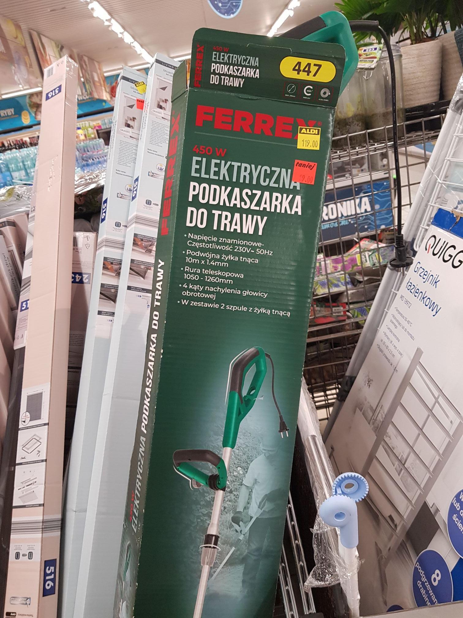 Podkaszarka Ferrex elektryczna 450w