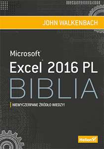 Excel 2016 PL. Biblia (ebook)