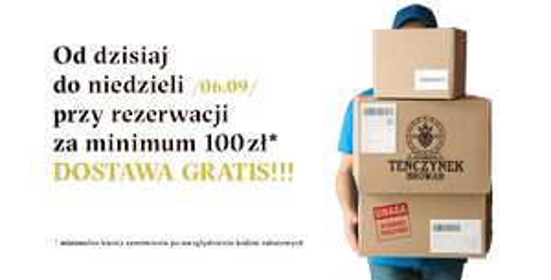 Piwa z Browaru Tenczynek z dostawą gratis przy rezerwacji za min. 100 zł