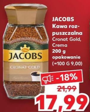 Kawa Jacobs Cronat Gold Crema