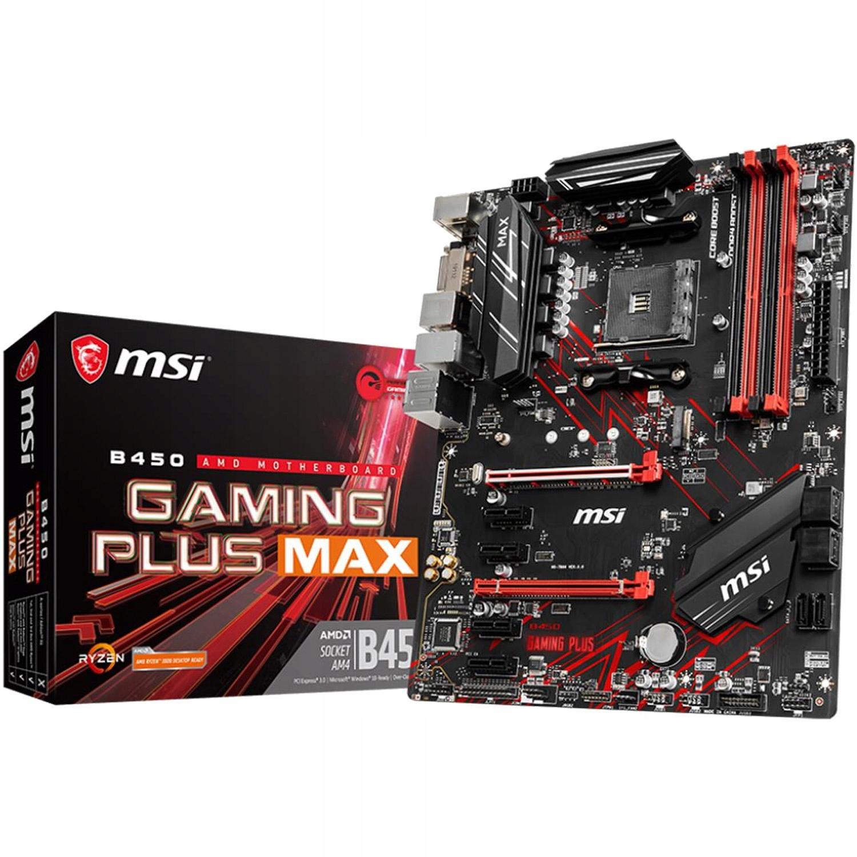 Msi b450 gaming max.