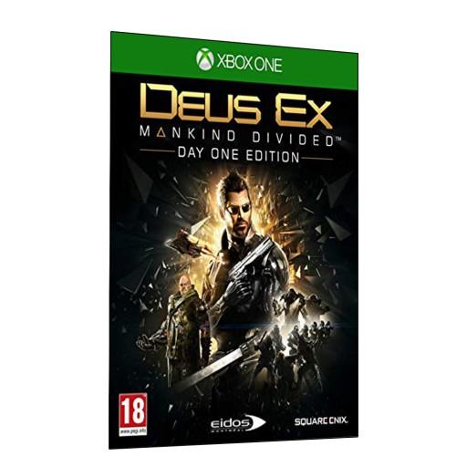 Deus Ex Rozłam Ludzkości Mankind Divided PL XONE
