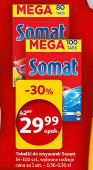 [Auchan] SOMAT, 0.30(!)-0.56 zł/szt.