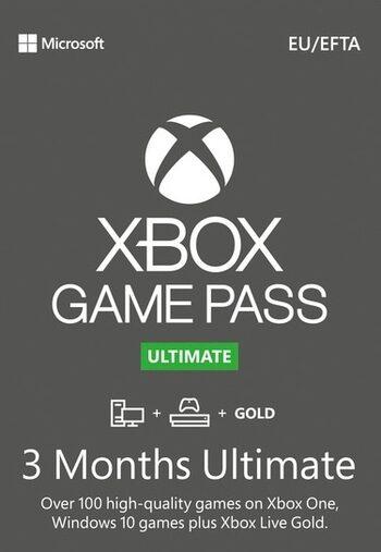 Xbox Game Pass Ultimate (3 miesiące, kod na przedłużenie na dowolne konto) @ Eneba