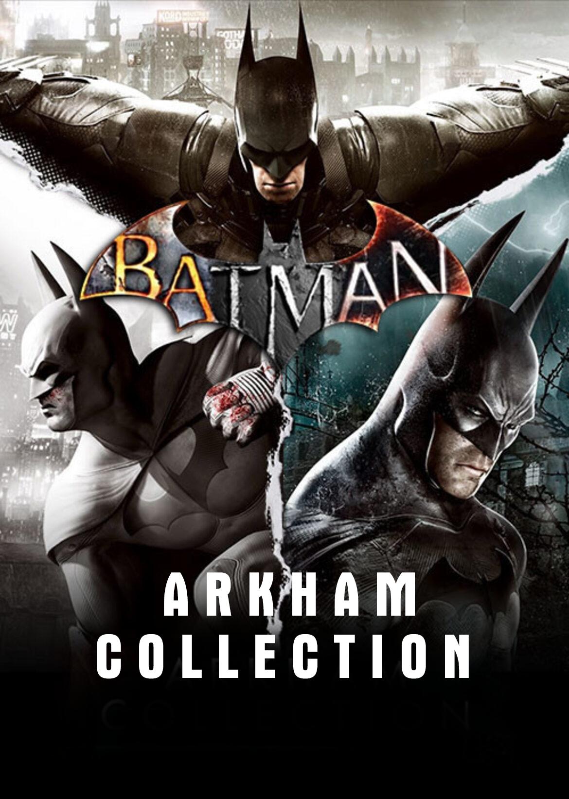 Batman: Arkham Collection za 26,78 zł na Instant Gaming 5.95€