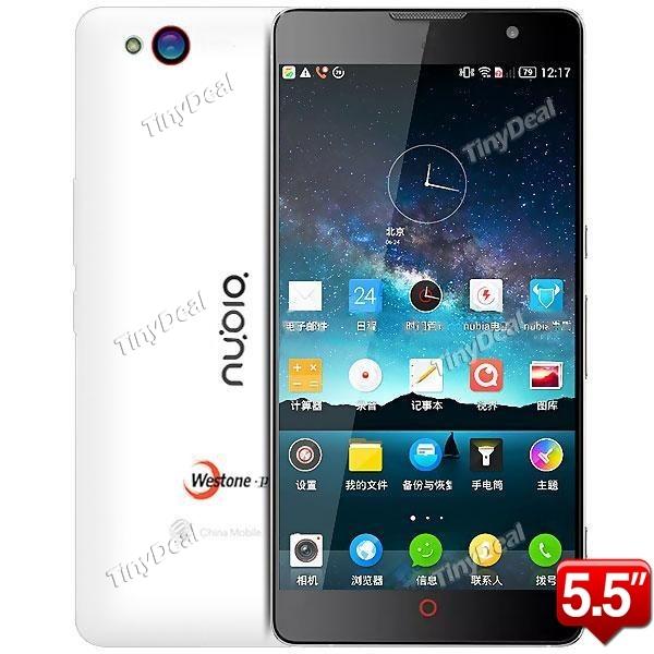 """ZTE Nubia Z7 MAX 5.5"""" FHD Snapdragon 801najtaniej z Chin możliwy vat@tinydeal"""