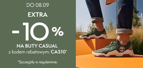 Dodatkowe 10% rabatu na buty w @Timberland - promocje i nowości