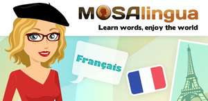 Learn French with MosaLingua (Android App)