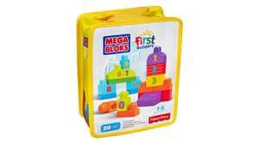 Klocki Mega Bloks First Bulilders 1-2-3 za jedyne 20zł (+ 9,90zł za dostawę) @ Satysfakcja