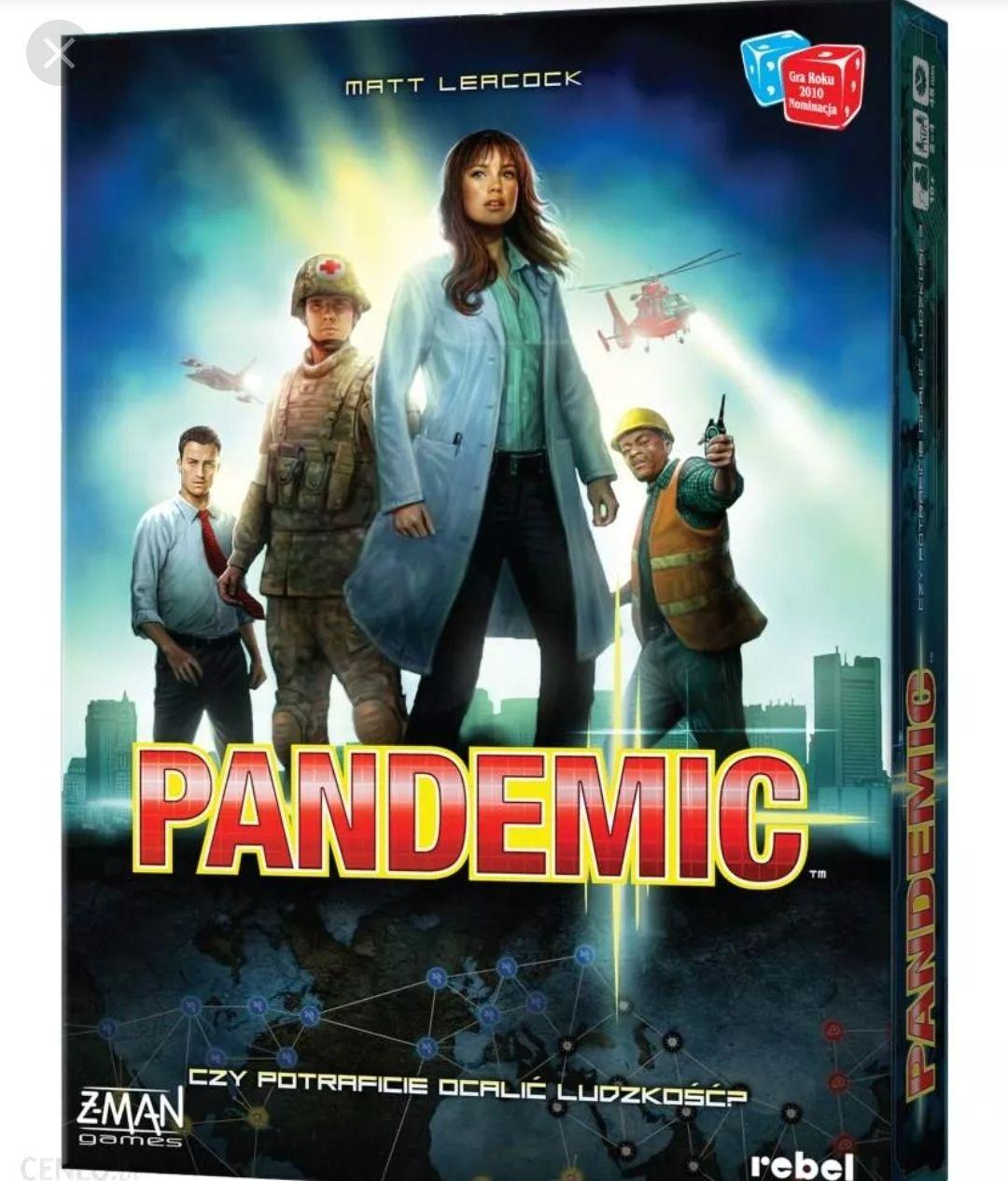 Pandemic gra planszowa wersja PL