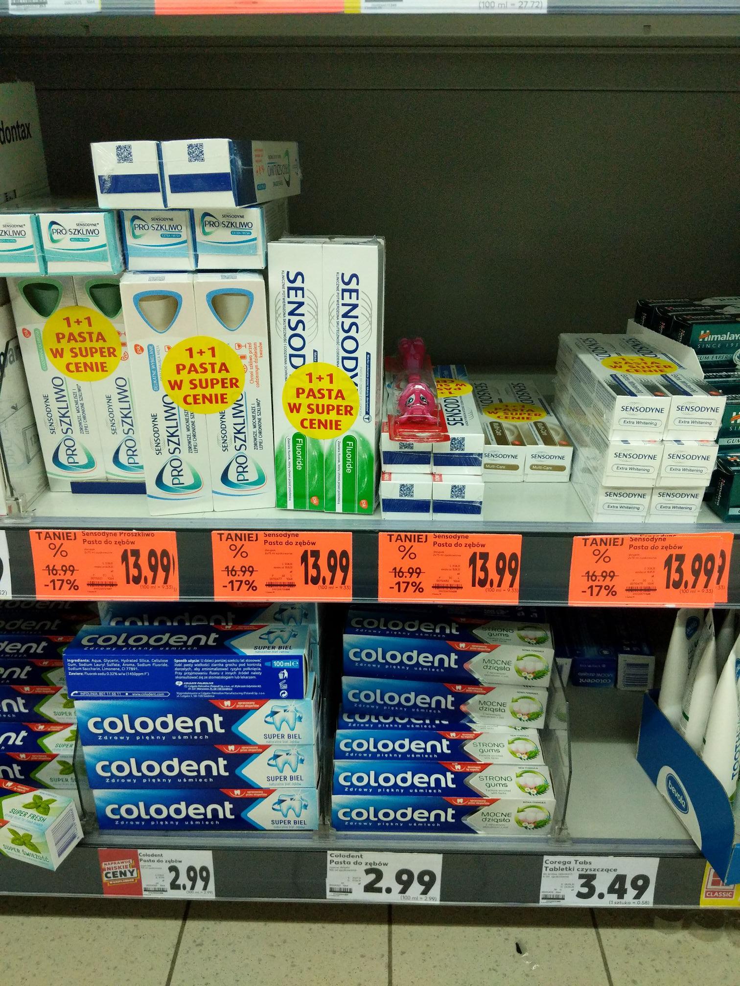 Dwupak pasta do zębów Sensodyne różne rodzaje w Kauflandzie Pszczyna