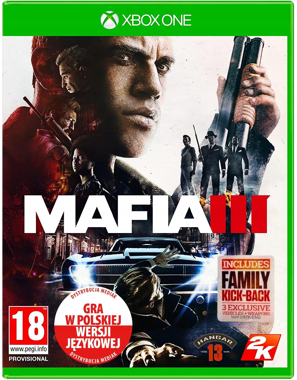 MAFIA III 3 PL + Dodatek Xbox One Po Polsku