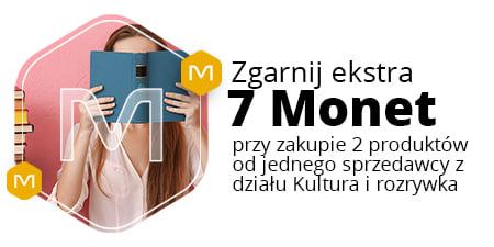 +7 Monet przy zakupie 2 ofert od 1 sprzedawcy w dziale Kultura i rozrywka