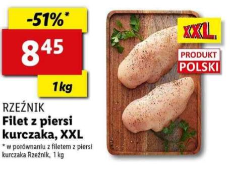 Filet z piersi kurczaka XXL. Lidl