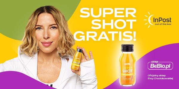 Odbierz w Paczkomacie swój Super Shot w prezencie od BeBio.pl!