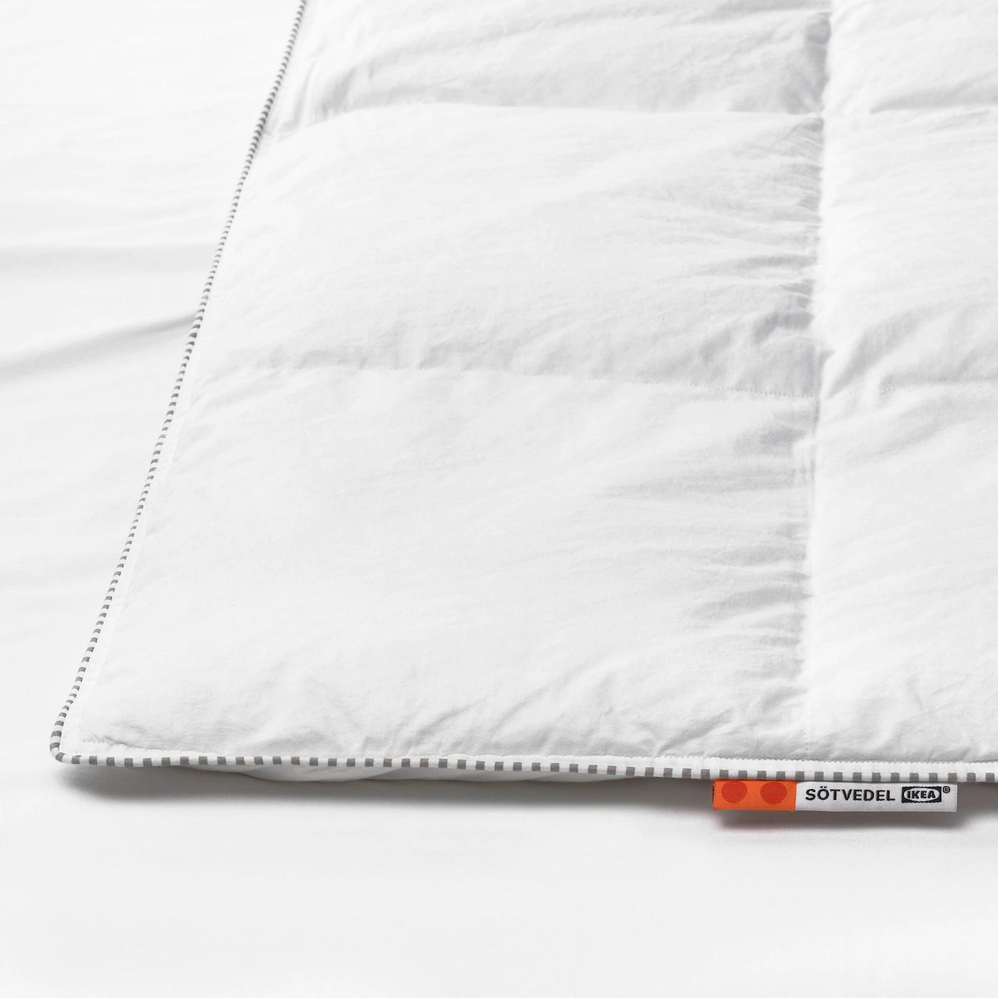 Ikea kołdra SÖTVEDEL, puch i pierze, 150x200, bardzo ciepła
