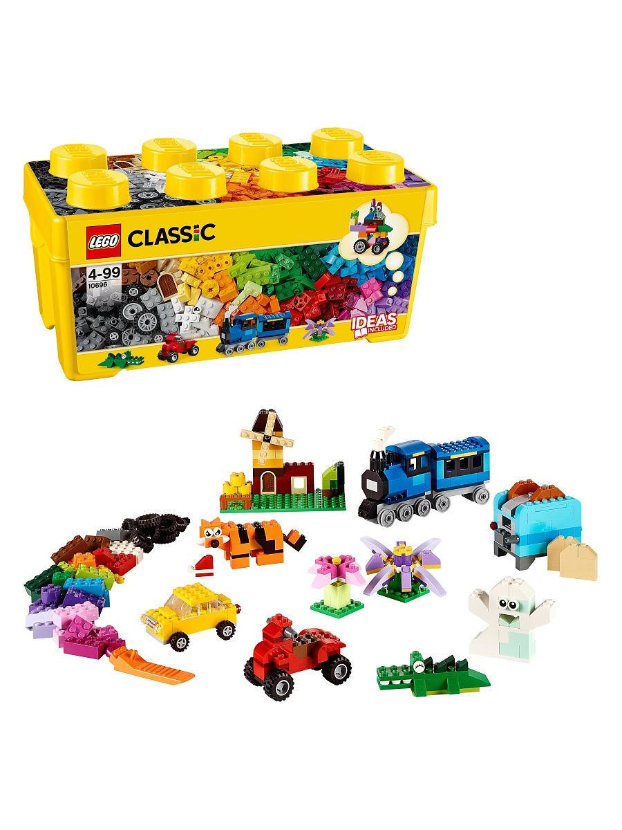 LEGO 10696 Classic - Kreatywne klocki - średnie pudełko