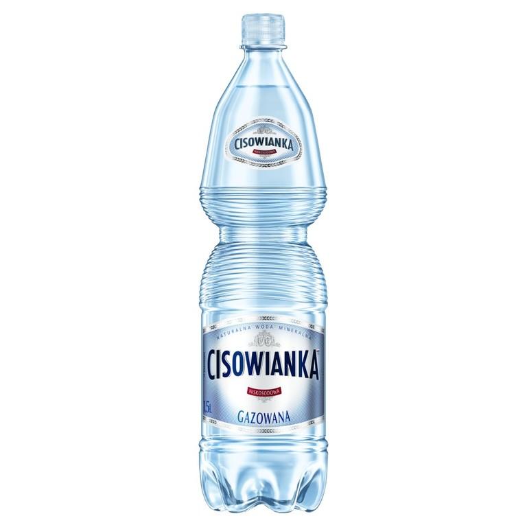 Sklep online Stokrotka Cisowianka Naturalna woda mineralna gazowana 1,5 l