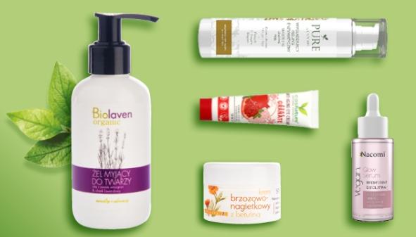 Promocja na kosmetyki naturalne i wegańskie w @Hebe