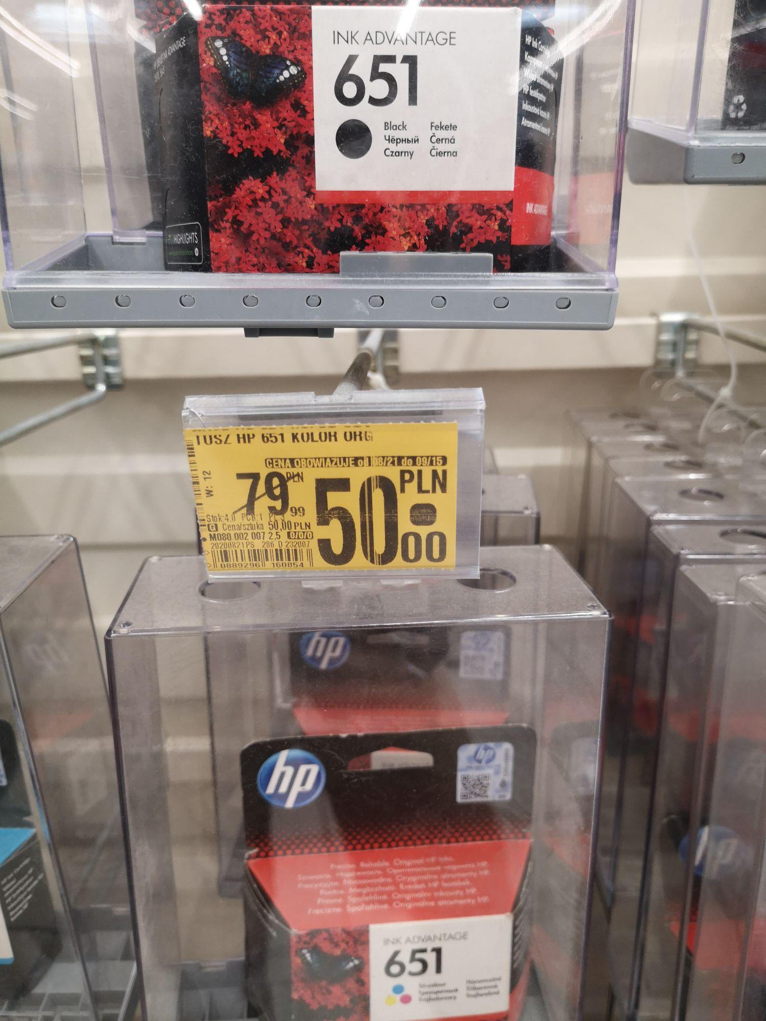 Tusz HP 651 Czarny i Kolor