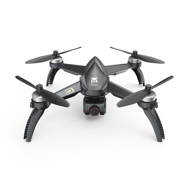Dron MJX Bugs 5W (FPV, Wifi, GPS, Kamera 4K, kontroler) z wysyłką z Niemiec @ Tomtop