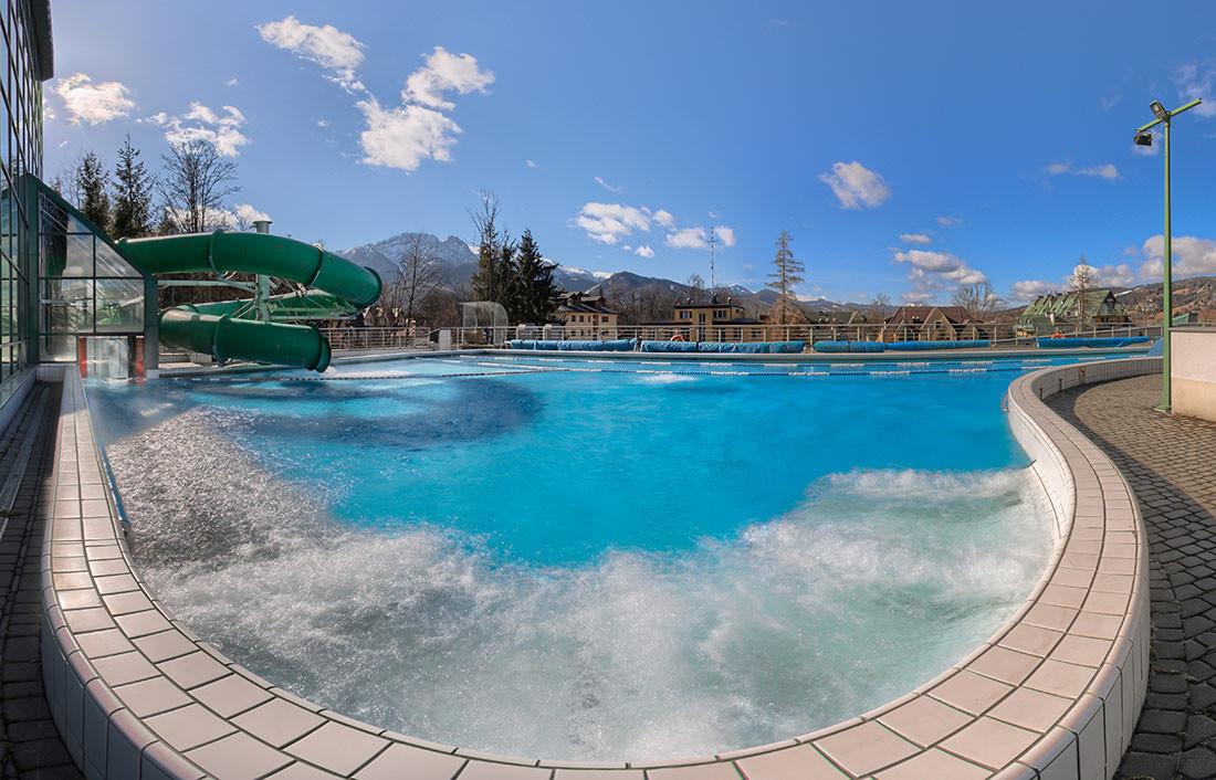 Zniżka na bilety wstępu do term w Aqua Parku w Zakopanem @ Groupon
