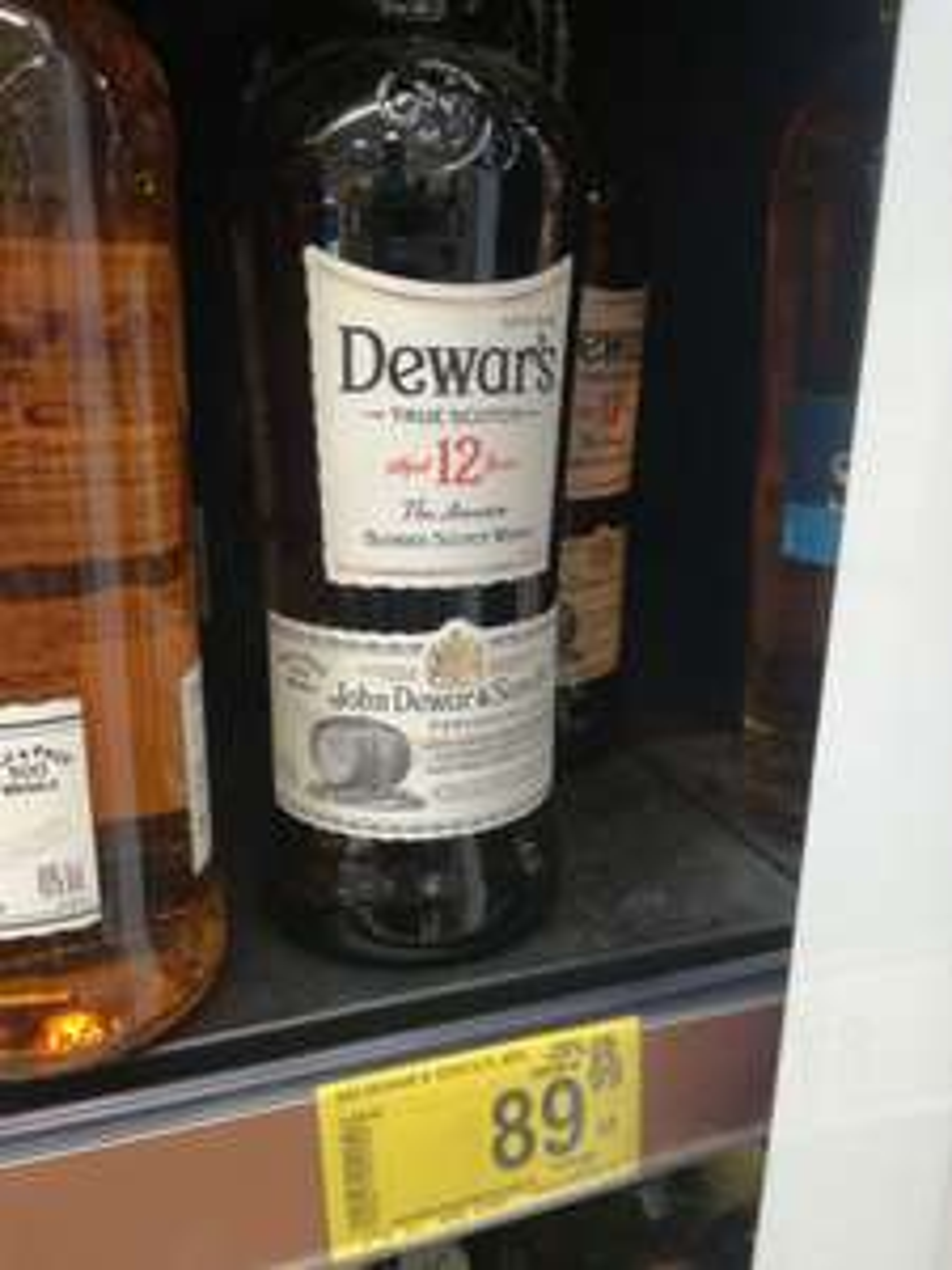 Dewars 12y - pojemnosc 0'7l