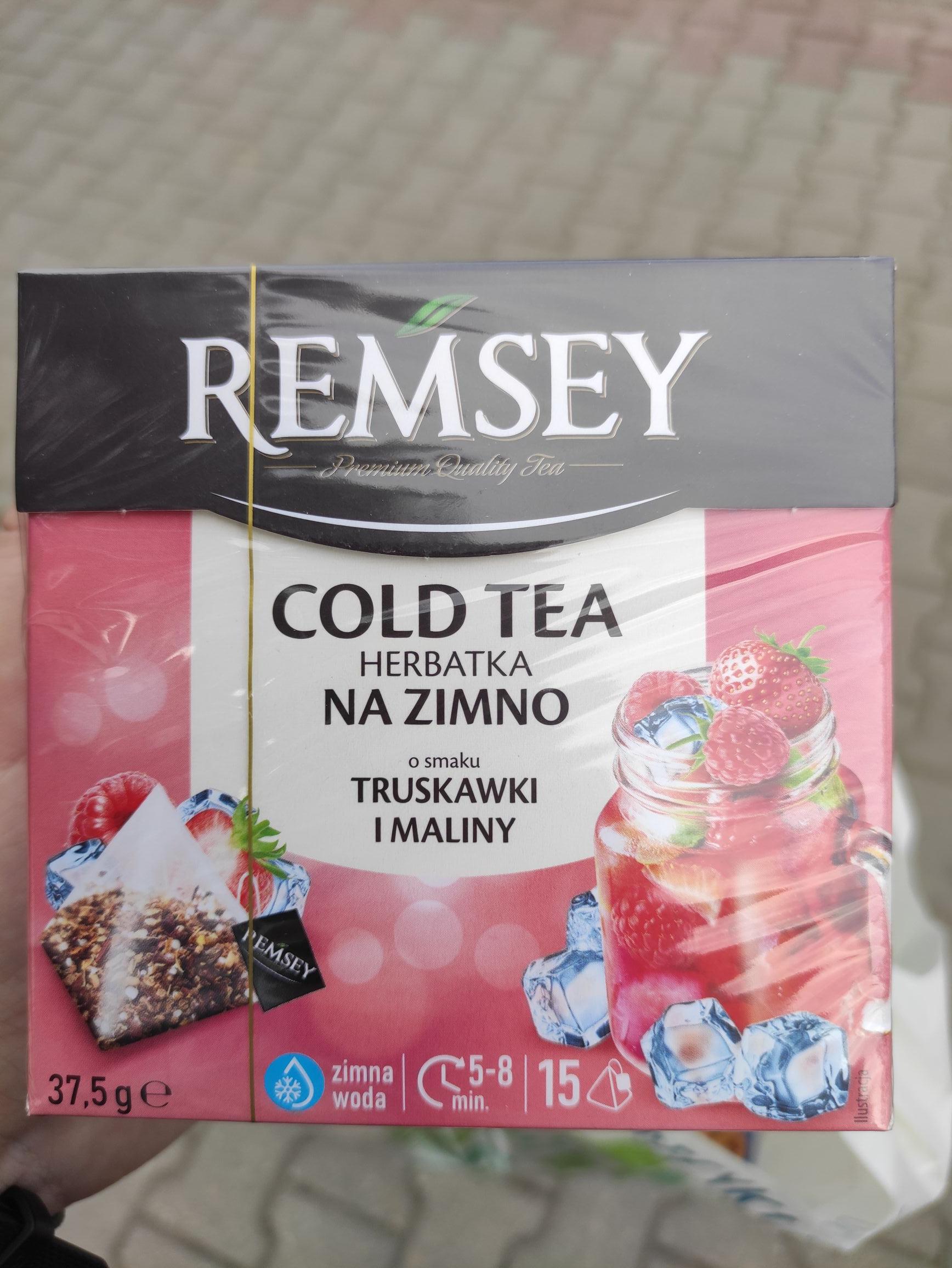 Remsey herbatka na zimno - Biedronka