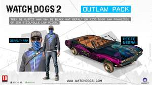 Watchdogs 2: Outlaw Pack (DLC) za darmo [PS4, Xbox One, PC]