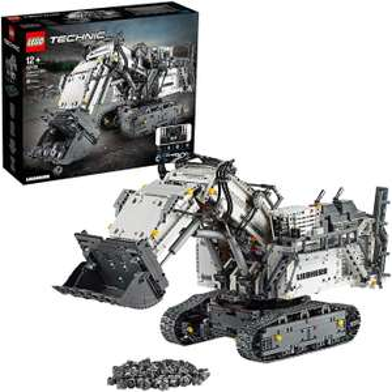 LEGO 42100 Technic - Koparka Liebherr R 9800 - Amazon UK