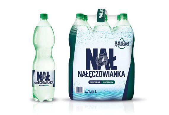 Woda gazowaną Nałęczowianka Cena przy zakupie 12 szt #Lidl