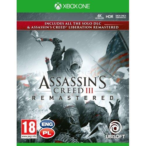 Assassin's Creed 3 + Liberation Remaster Gra XBOX ONE
