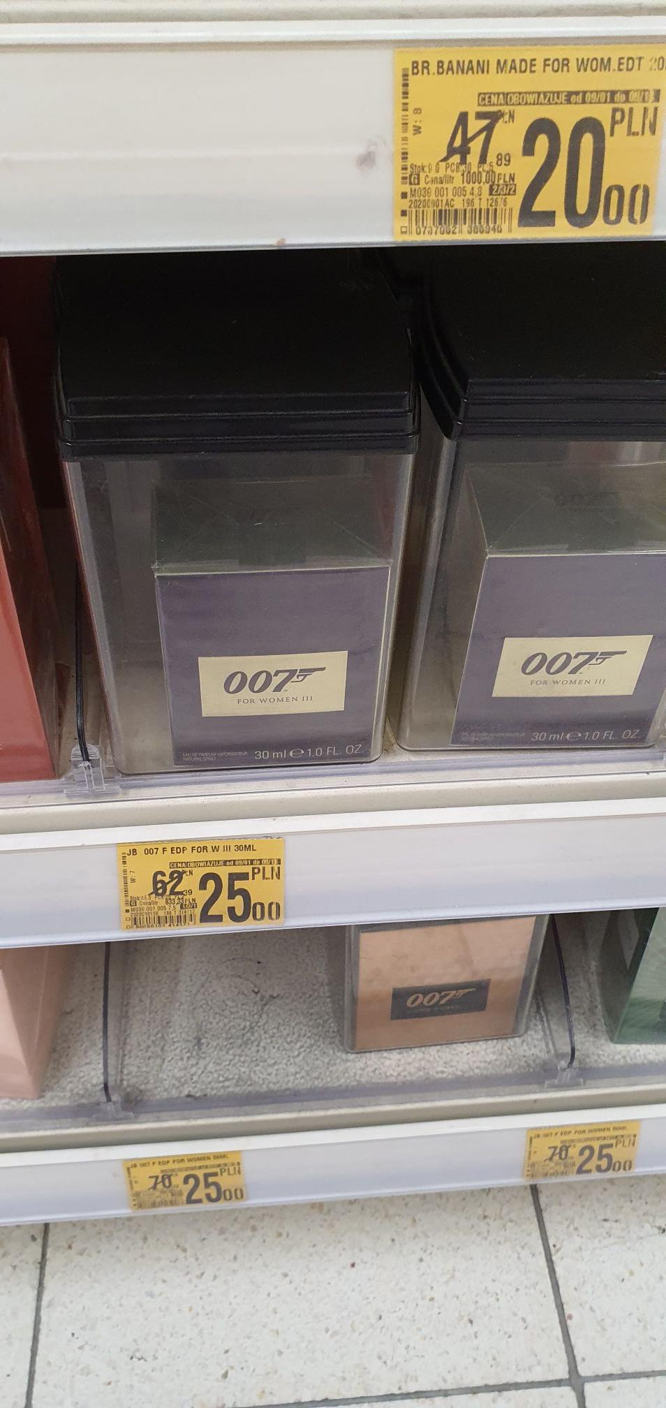 Perfumy 007 For women III 30 ml Auchan Gliwice