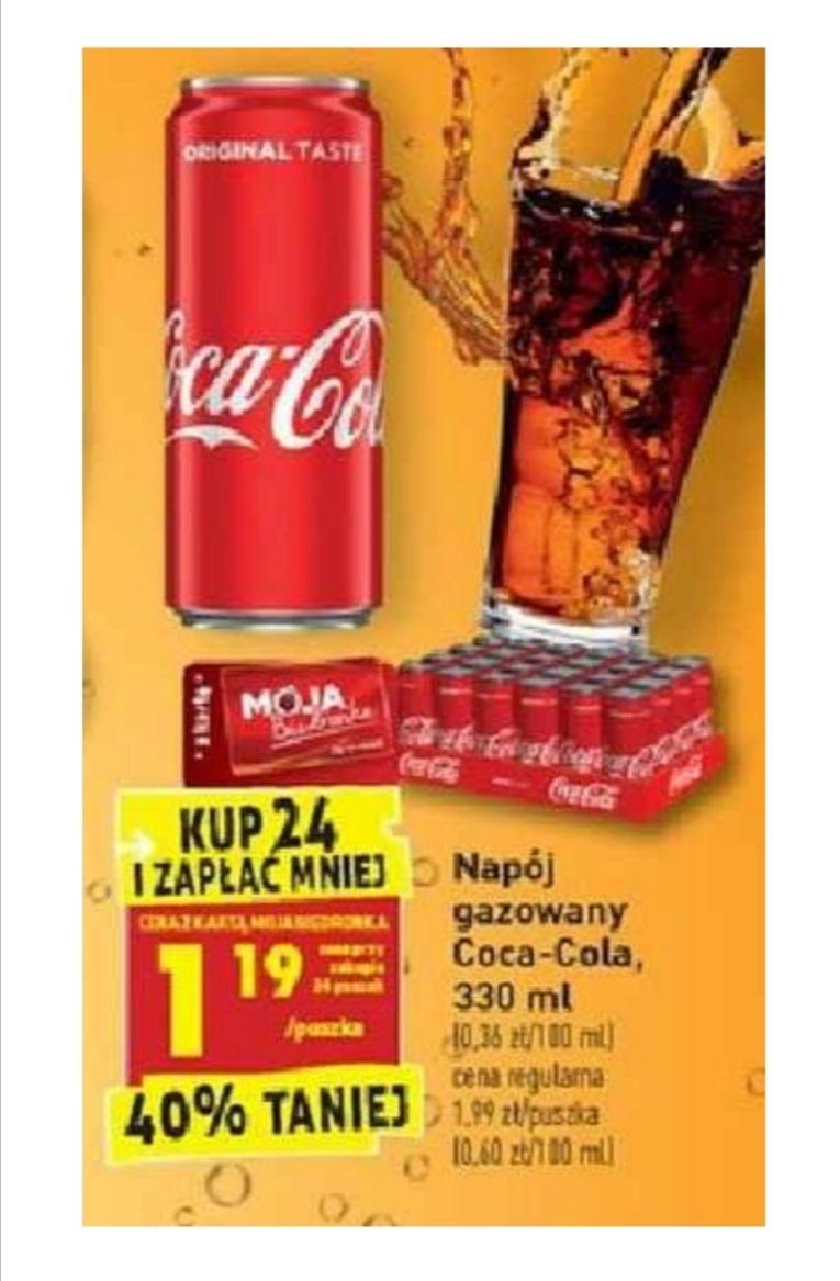 Coca-Cola. Kup 24 i zapłać mniej. Biedronka