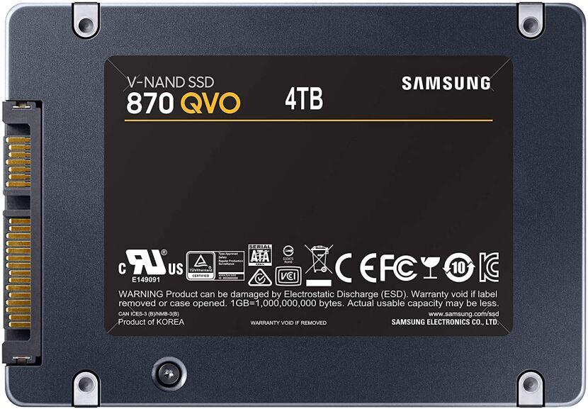 Dysk SSD 870 QVO 4 TB 2,5'' SATA III wysyłka przez pośrednika i VPN