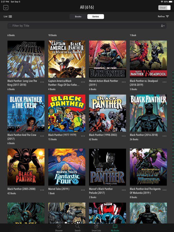 Darmowe komiksy Czarna Pantera na Comixology