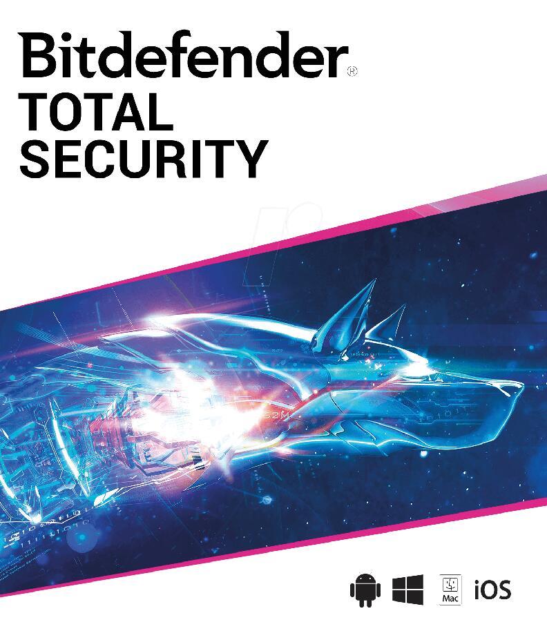 Bitdefender Total Security - 90 dni za darmo
