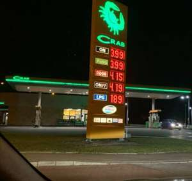 ON Diesel w dobrej cenie Crab Bielsko-Biała